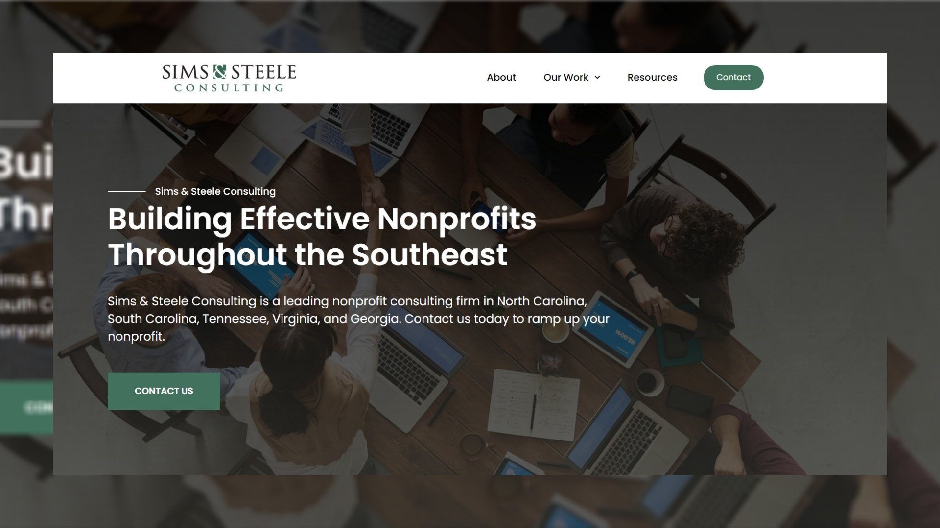 sims and steele asheville nonprofit consulting